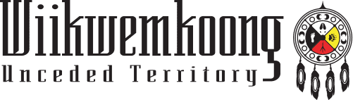 Wiikwemkoong Unceded Territory Logo
