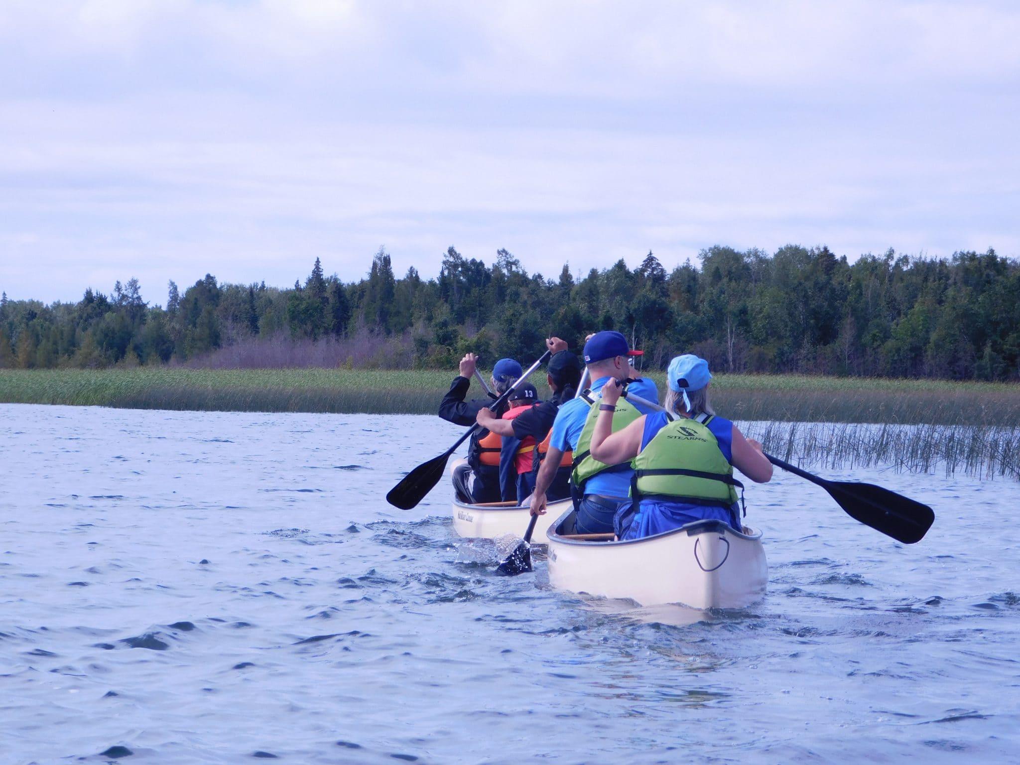 Bay of the Beaver Canoe Tour