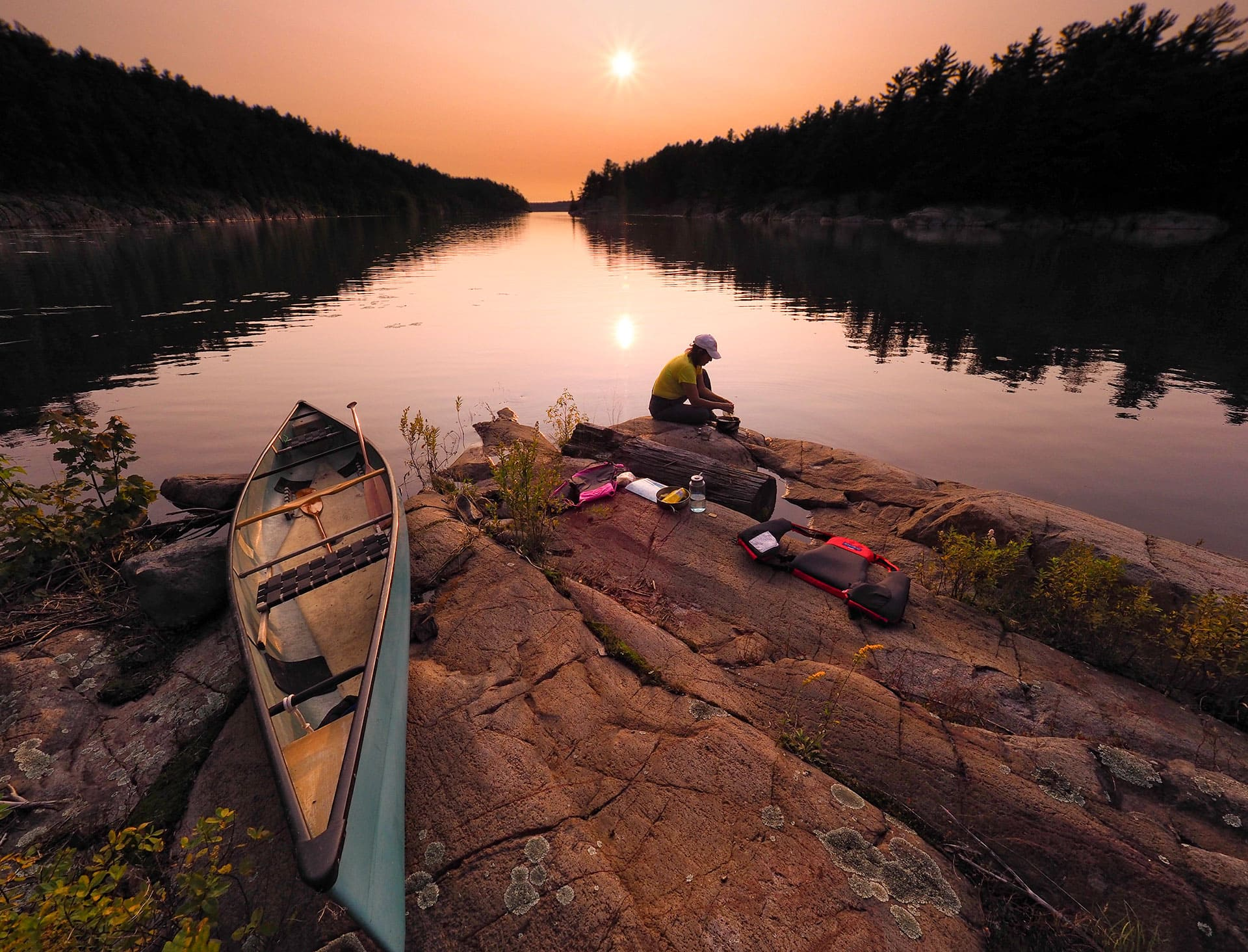 Sunset Canoe Tour